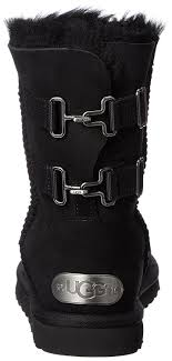 ugg womens eliott boots black amazon com ugg womens fairmont boot mid calf