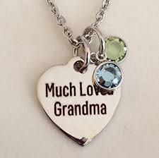 great grandmother necklace grandmother necklace with birthstones