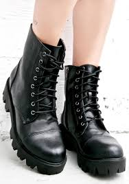 black lace up biker boots biker boots