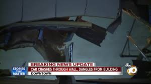 lexus crash san diego car slams through wall of harbor club in downtown 10news com