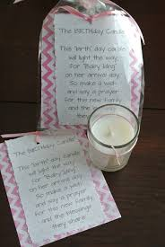 baby showers favors a birthday candle baby shower favor baby shower ideas