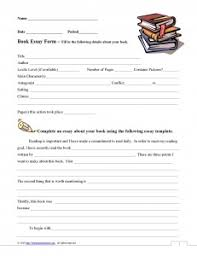 middle school book report template book reports for middle school students college homework help