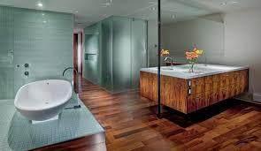 bathroom hardwood flooring ideas wood flooring in the bathroom a relaxed atmosphere with wood