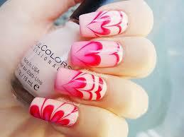 easy nail art designs 1 valentine u0027s day heart nails melodysusie