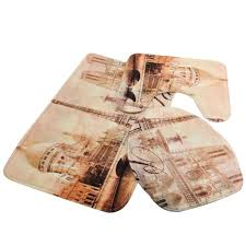 Bathroom Rug Sets 3 Piece by Compare Prices On Bath Mat Sets 3 Piece Online Shopping Buy Low