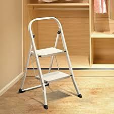delxo 2 step ladder folding step stool ladder with handgrip anti