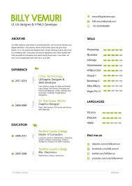 Graphic Artist Resume Ui Ux Designer Resume