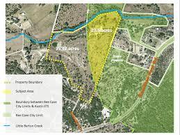 bee cave council approves creeks edge development plan community