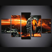 online shop 5 panels canvas prints firefighter our hero canvas