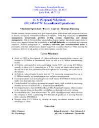 Management Consultant Resume Sample by Consultant Resumes Resume For Your Job Application