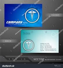 Medical Business Card Design Medical Business Cards Visiting Card Eps Stock Vector 112714021