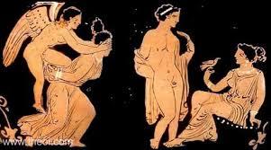 Aphrodite Vase Eros Aphrodite U0026 Lovers Ancient Greek Vase Painting