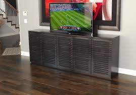 Living Room Design Television Furniture Custom Dark Wood Tv Lift Cabinet With Laminate Wood