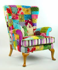 suzani patchwork parker knoll armchair by justinadesign on etsy