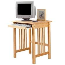 compact computer desk wood compact computer desk solid wood small with printer in storage plans