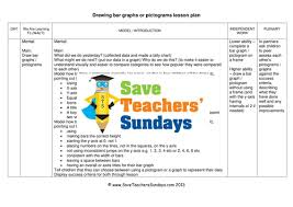 drawing bar graphs or pictograms ks1 worksheets lesson plans