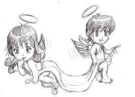 angels pencil drawing by fher68 on deviantart