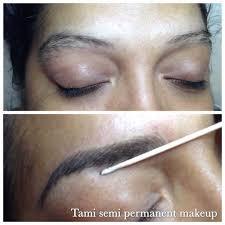 3d semi permanent makeup eyebrow hair stroke