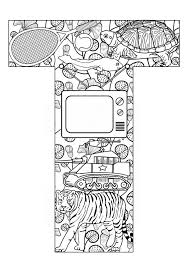 letter coloring pages free 233 best my abc u0027s images on pinterest alphabet coloring pages