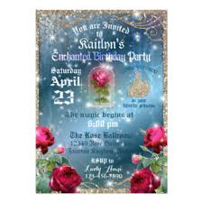 and the beast wedding invitations and the beast invitations announcements zazzle