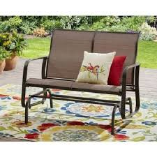 Patio Furniture Glider by Outdoor Glider Rocker Porch Patio Furniture Swing Rocking 2 Seat