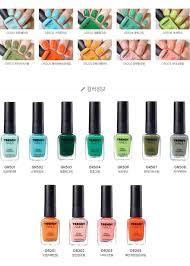 the face shop trendy nails u2013 vuty design