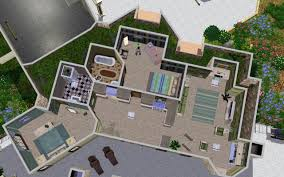 Industrial Modern House Home Design Modern House Floor Plans Sims 3 Eclectic Expansive