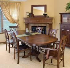Double Pedestal Dining Room Tables Chancellor Rounded Rectangular Double Pedestal Dining Table By