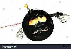champagne emoticon emoticon bomb fire his eyes lit stock illustration 1367274