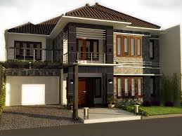 Architectural Design for Town House Surabaya by Yuni Design