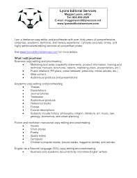 Pr Resume Sample Copy Editor Resume Resume For Your Job Application