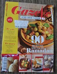 gazelle cuisine tajine aux oignons et aux raisins secs et parution presse