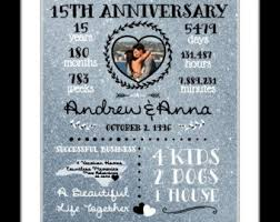 15 year anniversary gift ideas for 15th anniversary gift ideas for herwritngs and papers writngs