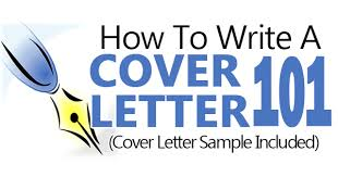 how to write a cover letter sample included