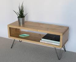 light wood tv stand emily reclaimed wood tv stand tv cabinet hairpin legs