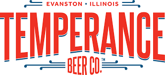 Illinois Brewery Map by Temperance Beer Company