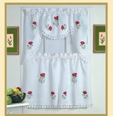 Kitchen Embroidery Designs Cutwork Curtains Cutwork Curtains Suppliers And Manufacturers At