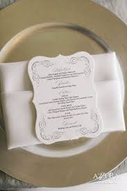 Wedding Invitations With Menu Cards 14 Best Elegant Menu Cards Images On Pinterest Marriage Wedding