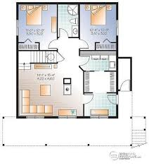 a frame house plans with basement house plan w3938 v1 detail from drummondhouseplans com