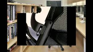 Herman Miller Aeron Executive Chair Executive Aeron Chair Herman Miller Polished Aluminum Frame With