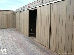 Exterior Sliding Door Track Systems Exterior Pocket Door Ibbc Club
