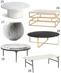 top 20 modern coffee tables modern coffee tables archives stylecarrot