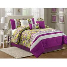 Teal And Purple Comforter Sets Purple Comforters Sears