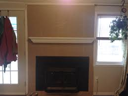 painting and re painting a tile fireplace cozy crooked cottage