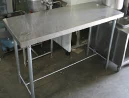 Used Stainless Steel Tables by Steel Work Table Used