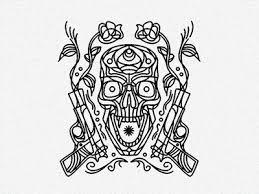 guns u0027n u0027roses tattoo by alain l u0027thi dribbble