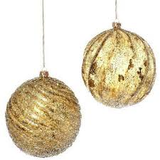 gold ornaments happy holidays