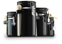 kitchen plan black canister sets for kitchen black canister