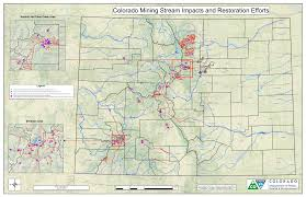 Map Of Colorado River by Mapping 1 645 Miles Of Colorado Waterways Affected By Abandoned