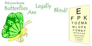 Legally Blind Test Blind Butterflies Asu Ask A Biologist